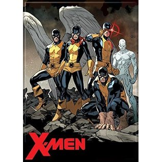 Ata-Boy Magnet - Marvel - X-Men: Angel, Marvel Girl, Cyclops, Beast, Ice Man