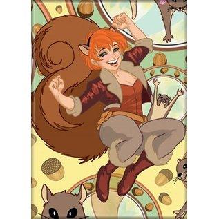 Ata-Boy Magnet - Marvel - The Unbeatable Squirrel Girl