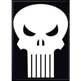 Ata-Boy Magnet - Marvel - The Punisher: Logo