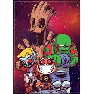 Ata-Boy Magnet - Marvel - Guardians of the Galaxy: Cartoon by Scottie Young