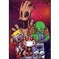 Ata-Boy Aimant - Marvel - Guardians of the Galaxy: Cartoon par Scottie Young