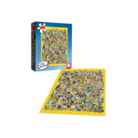 Usaopoly Casse-tête - The Simpsons - Cast of Thousands 1000 pièces