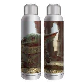 "Vandor Travel Bottle - Star Wars The Mandalorian - The Child ""Baby Yoda"" Stainless Steel 22oz"