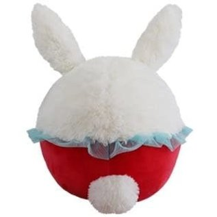 Squishable Peluche - Squishable - Mini Lapin Blanc en Retard Open Squish 7""