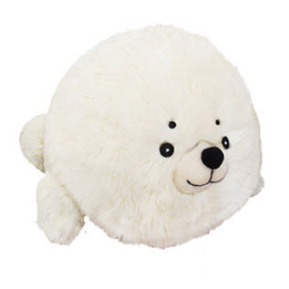 Squishable Peluche - Squishable - Mini Phoque Blanchon 7''