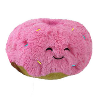 Squishable Peluche - Squishable - Mini Comfort Food Beigne Rose Project Open Squish 7""