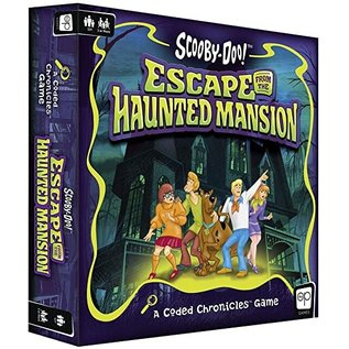 The OP Games Jeu de société - Scooby-Doo - Escape From The Haunted Mansion