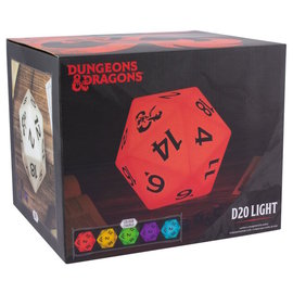Paladone Lamp - Dungeon & Dragons - D20 Light Color Changing