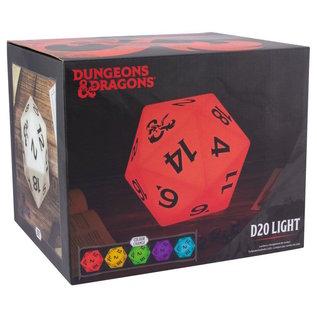 Paladone Lampe - Dungeon & Dragons - Lumière D20 à Changement de Couleur
