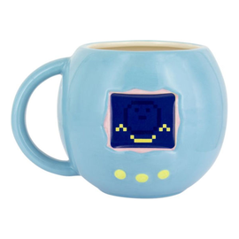 Paladone Mug - Tamagotchi -Blue Sculpted Heat Reactive 14oz