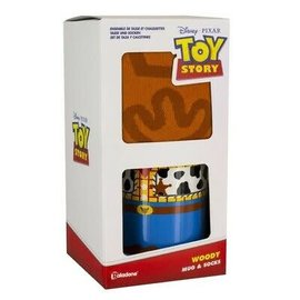 Paladone Mug - Disney Pixar - Toy Story: Woody with Mug and Socks 12oz