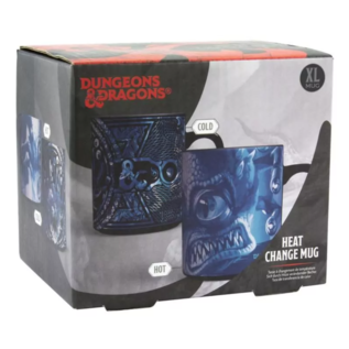 Paladone Tasse - Dungeons & Dragons - Beholder Réactive à la Chaleur avec Autocollant 16oz