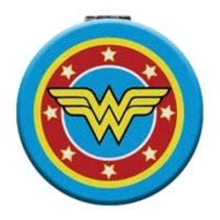 Spoontiques Compact Mirror - Wonder Woman - Wonder Woman Logo