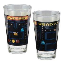 Vandor Glass - Pac-Man - Holographic Sceenshot Set of 2 16oz