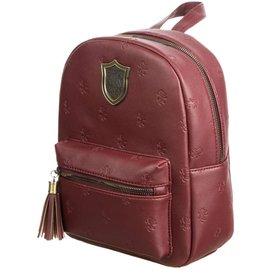 Bioworld Mini Backpack - Harry Potter - Gryffindor with Embossed Lions and Metal Logo