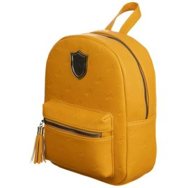 Bioworld Mini Backpack - Harry Potter - Hufflepuff with Embossed Badgers and Metal Logo