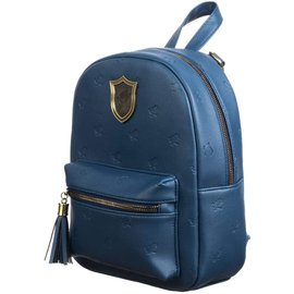 Bioworld Mini Backpack - Harry Potter - Ravenclaw with Embossed Eagles and Metal Logo