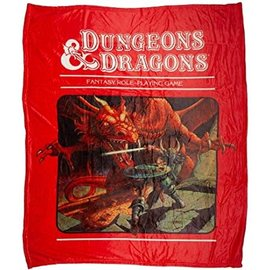 Bioworld Blanket - Dungeons & Dragons - Original 1st Edition Cover Fleece Throw