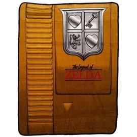 Bioworld Couverture - The Legend of Zelda - Cassette Dorée Jeté en Peluche