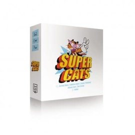 Usaopoly Board Game - Super Cats - Super Cats English Version