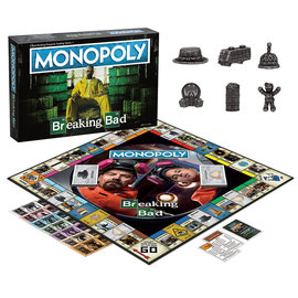Usaopoly Board Game - Breaking Bad - Monopoly Breaking Bad