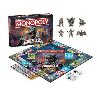 Usaopoly Jeu de société - Godzilla - Monopoly Godzilla Monster Edition