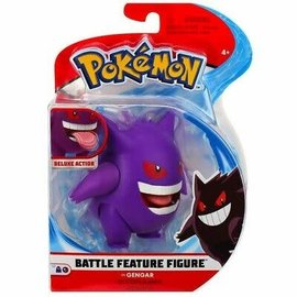 Wicked Cool Toys Figurine - Pokémon - Gengar Deluxe Battle Feature 4.5""