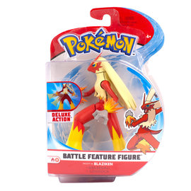 Wicked Cool Toys Figurine - Pokémon - Blaziken Deluxe Battle Feature 4.5""