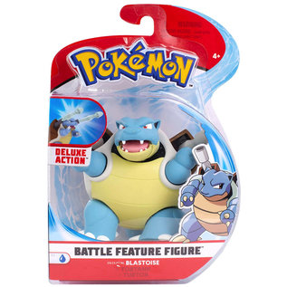 "Wicked Cool Toys Figurine - Pokémon - Blastoise Deluxe Battle Feature 4.5"""