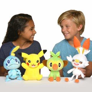 "Wicked Cool Toys Peluche - Pokémon - Région de Galar Scorbunny 8"""
