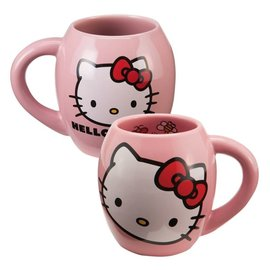 Vandor Tasse - Hello Kitty - Hello Kitty Ovale Rose 18 oz