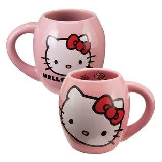 Vandor Tasse - Hello Kitty - Hello Kitty Ovale Rose 18 oz