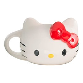 Vandor Mug - Hello Kitty - Sculpted Hand Painted 18 oz