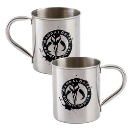Vandor Mug - Star Wars The Mandalorian - Mandalorian Bounty Hunter Stainless Steel 14 oz