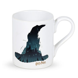 Enesco Tasse - Harry Potter - Le Choixpeau Magique Scène de Poudlard 12oz