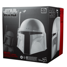Hasbro Collectionable - Star Wars - Réplique du Casque de Bobba Fett The Black Series Prototype Armor