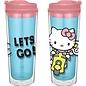 Vandor Tasse de voyage - Hello Kitty - Hello Kitty En Scooter Let's Go! 16 oz