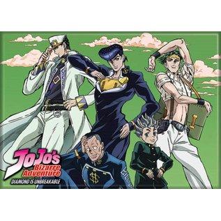 Ata-Boy Aimant - JoJo's Bizarre Adventure Diamond is Unbreakable - Jotaro, Josuke, Rohan, Okuyasu, Koichi