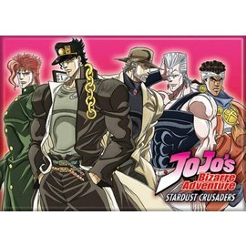Ata-Boy Magnet - Jojo's Bizarre Adventure Stardust Crusaders - Jotaro, Avdol, Joseph, Polnareff, Kakyoin