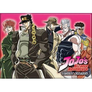 Ata-Boy Aimant - Jojo's Bizarre Adventure Stardust Crusaders - Jotaro, Avdol, Joseph, Polnareff, Kakyoin