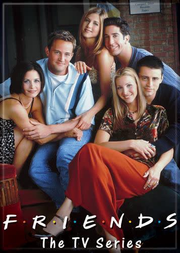 Magnet tv series Friends Monica /& Chandler