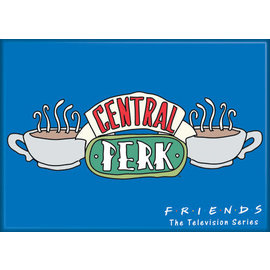 Ata-Boy Aimant - Friends - Logo Central Perk Bleu