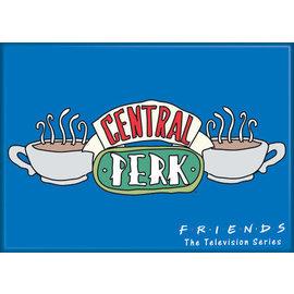 Ata-Boy Magnet - Friends - Central Perk Logo Blue