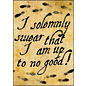 Ata-Boy Aimant - Harry Potter - I Solemnly Swear That I Am Up To No Good !