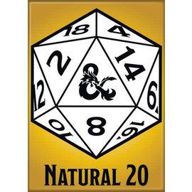 Ata-Boy Aimant - Dungeons & Dragons - Natural 20