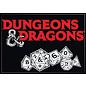 Ata-Boy Aimant - Dungeons & Dragons - Logo Ampersand avec Dés