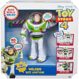 Mattel Figurine - Disney Pixar - Toy Story 4 : Buzz Lightyear The Ultimate Walking 7""