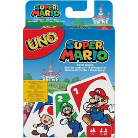 Mattel Board Game  - Nintendo - Uno: Super Mario