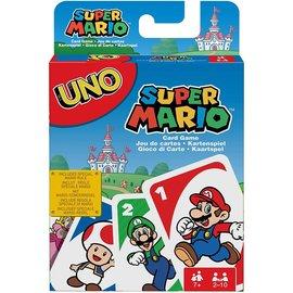 Mattel Jeu de société - Nintendo Super Mario Bros. - Uno