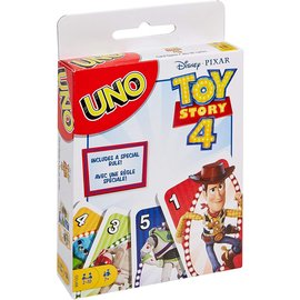 Mattel Board Game  - Disney Pixar - Uno: Toy Story 4